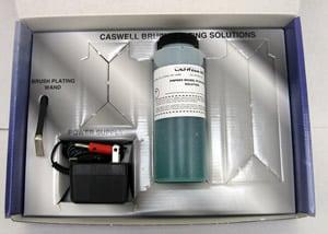 Plug n plate kits brush plating products plating kits plug n plate kit contents solutioingenieria Gallery
